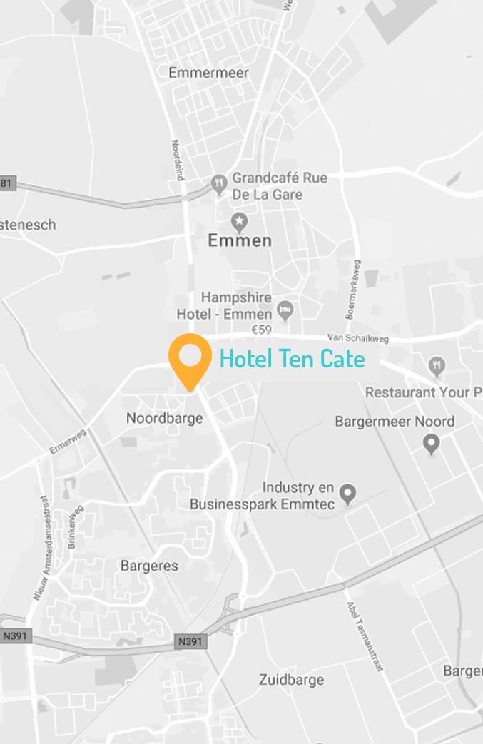 hoteltencate kaart